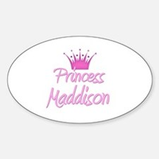 Princess Maddison Oval Decal