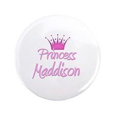 "Princess Maddison 3.5"" Button"