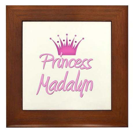 Princess Madalyn Framed Tile