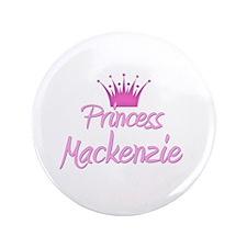 "Princess Mackenzie 3.5"" Button"