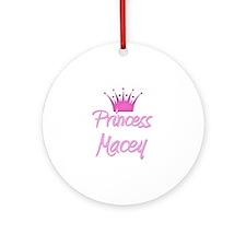 Princess Macey Ornament (Round)