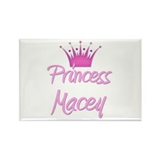Princess Macey Rectangle Magnet