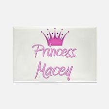 Princess Macey Rectangle Magnet