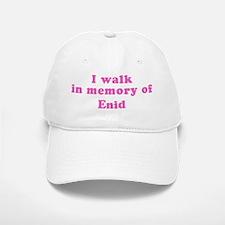 Walk in memory of Enid Baseball Baseball Cap
