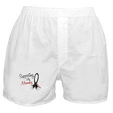 Supporting My Mommy MELANOMA Boxer Shorts