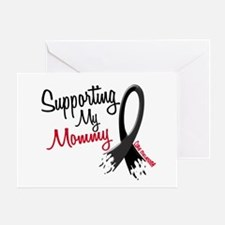 Supporting My Mommy MELANOMA Greeting Card