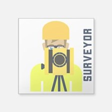 Surveyor Sticker