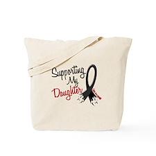 Supporting My Daughter MELANOMA Tote Bag