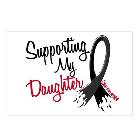 Supporting My Daughter MELANOMA Postcards (Package