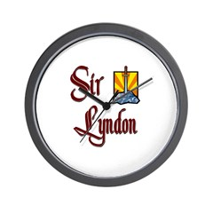 Sir Lyndon Wall Clock