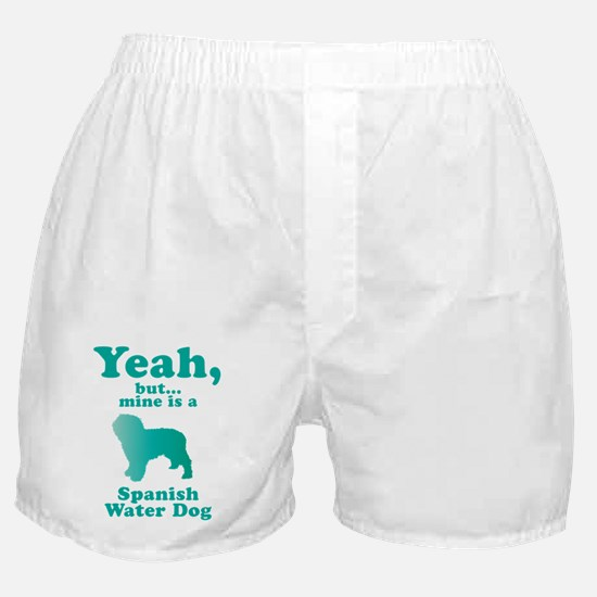 Spanish Water Dog Boxer Shorts