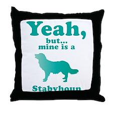Stabyhoun Throw Pillow