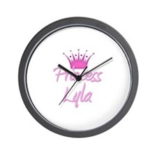 Princess Lyla Wall Clock
