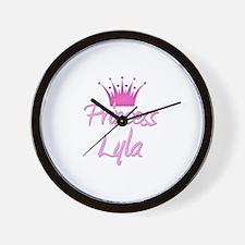 Princess Lyla Wall Clock