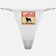 Spanish Water Dog Classic Thong