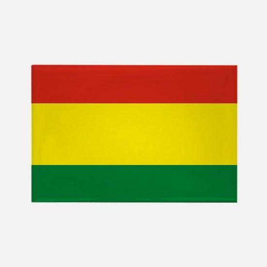 Flag: Bolivia Rectangle Magnet