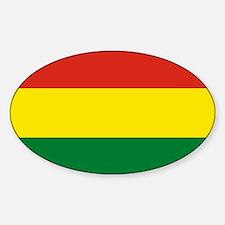 Flag: Bolivia Sticker (Oval)
