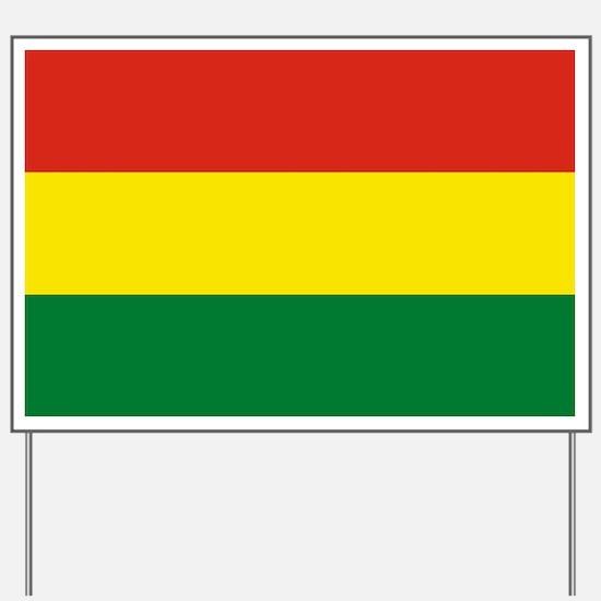 Flag: Bolivia Yard Sign