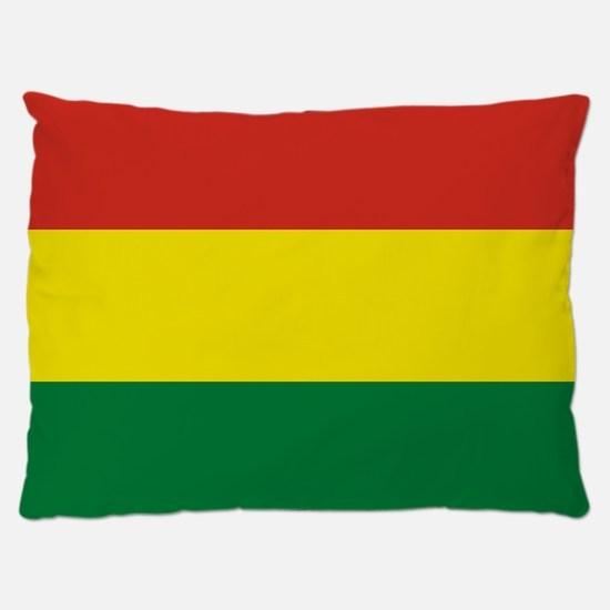 Flag: Bolivia Dog Bed