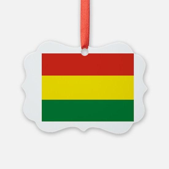 Flag: Bolivia Ornament