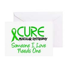 CURE Muscular Dystrophy 2 Greeting Card