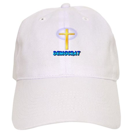 Christian Democrat Cross Ball Cap