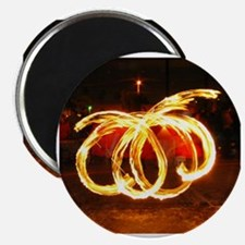 Funny Fire poi Magnet