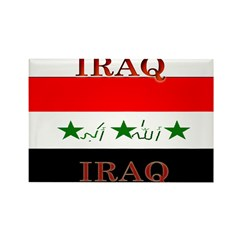 Iraq Iraqi Flag Rectangle Magnet (100 pack)