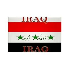 Iraq Iraqi Flag Rectangle Magnet (100 pack)