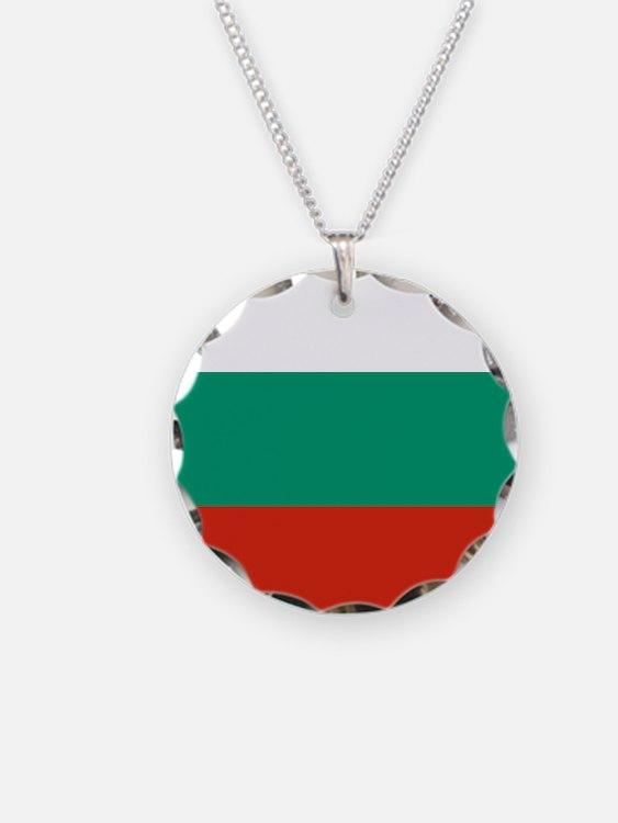 Flag: Bulgaria Necklace