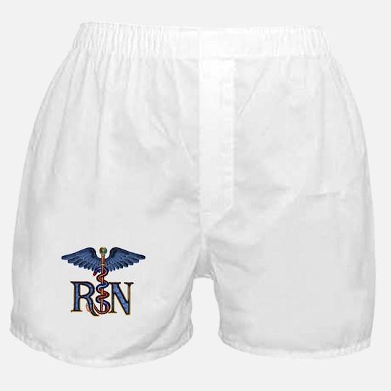 RN Caduceus Boxer Shorts