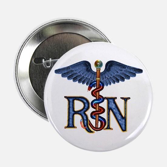 RN Caduceus Button