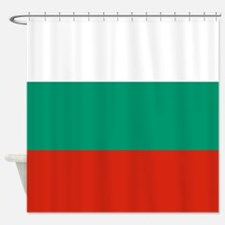 Flag: Bulgaria Shower Curtain