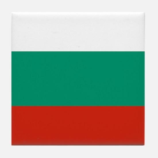 Flag: Bulgaria Tile Coaster