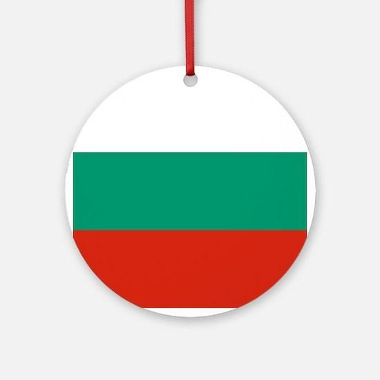 Flag: Bulgaria Round Ornament