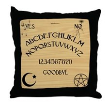 Traditional Talking Board Throw Pillow