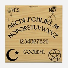 Traditional Talking Board Tile Coaster