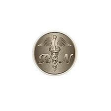 RN Caduceus Mini Button (100 pack)