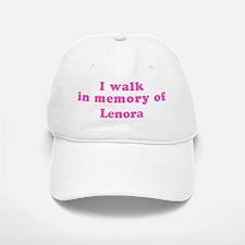 Walk in memory of Lenora Baseball Baseball Cap