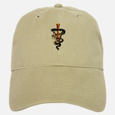 Veterinary Caduceus Baseball Baseball Cap