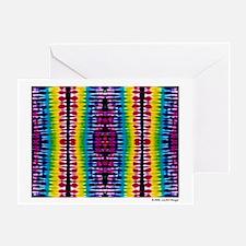 """""""Spirit"""" Tie Dye Greeting Card"""
