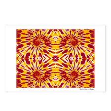 """""""Fire"""" Tie Dye Postcards (Package of 8)"""