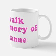 Walk in memory of Roxanne Mug