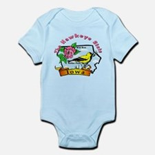 """Iowa Pride"" Infant Bodysuit"