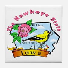 """Iowa Pride"" Tile Coaster"