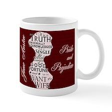 Jane Austen Quote Mug