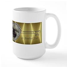 Le Keeshond Dore Mug