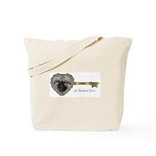 Le Keeshond Dore Tote Bag