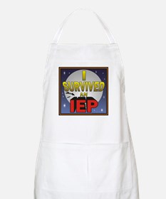 I Survived an IEP BBQ Apron