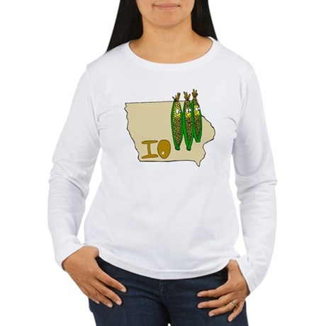 Iowa Pride! Women's Long Sleeve T-Shirt